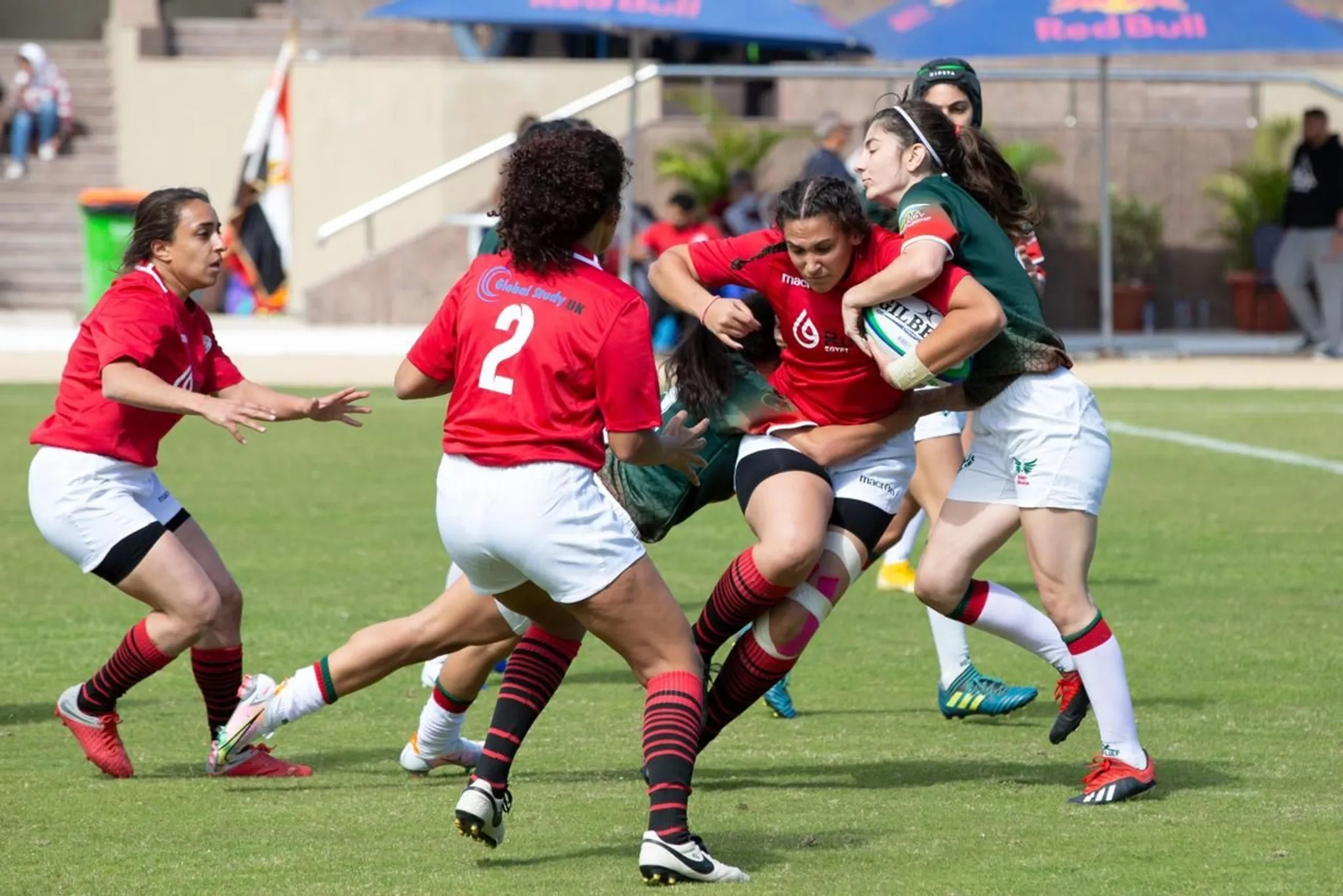 More people talking about rugby in Egypt after women's Arab Sevens success