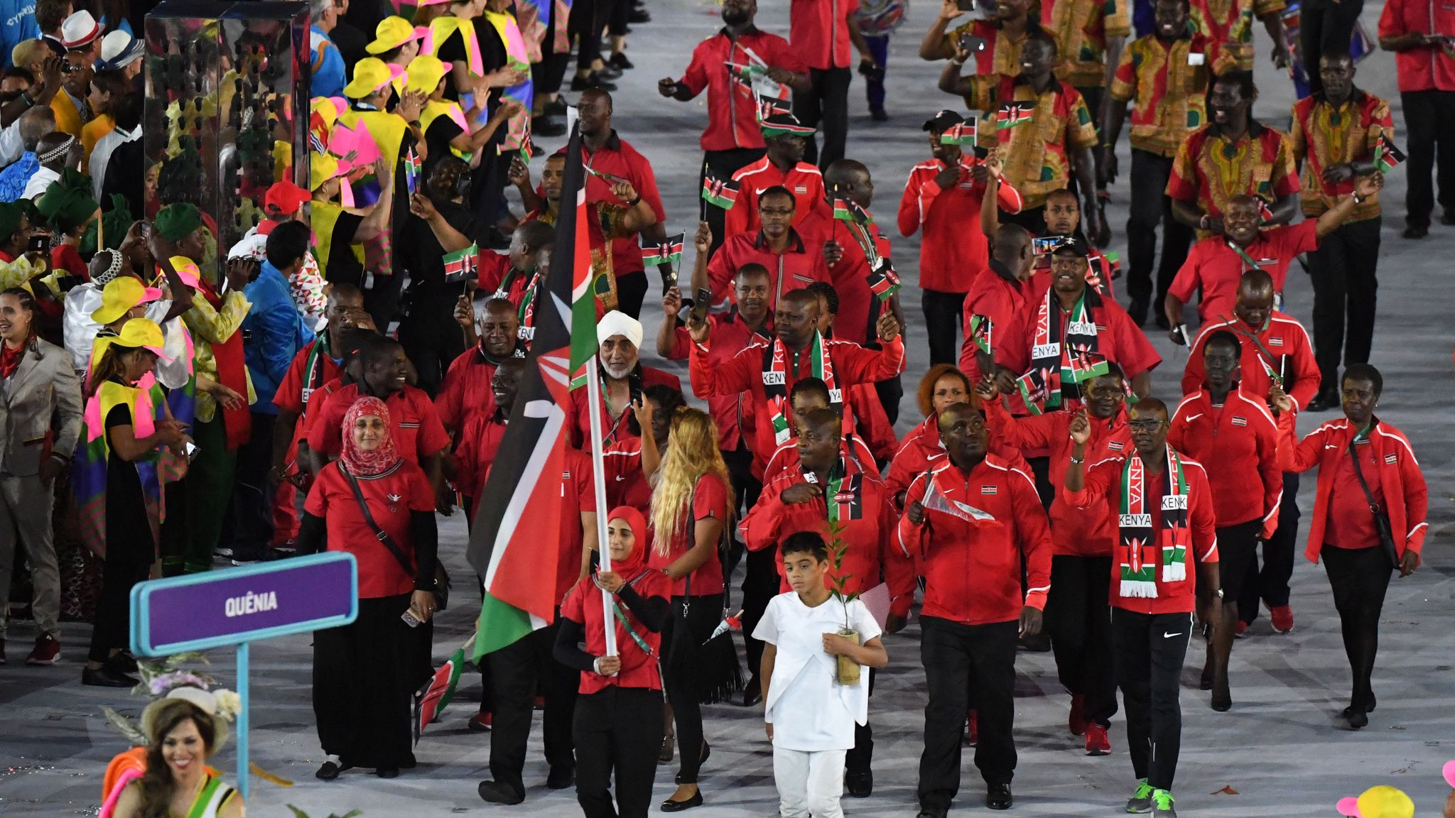 IOC calls for all delegations with female flag bearers at Tokyo Olympics opening ceremony