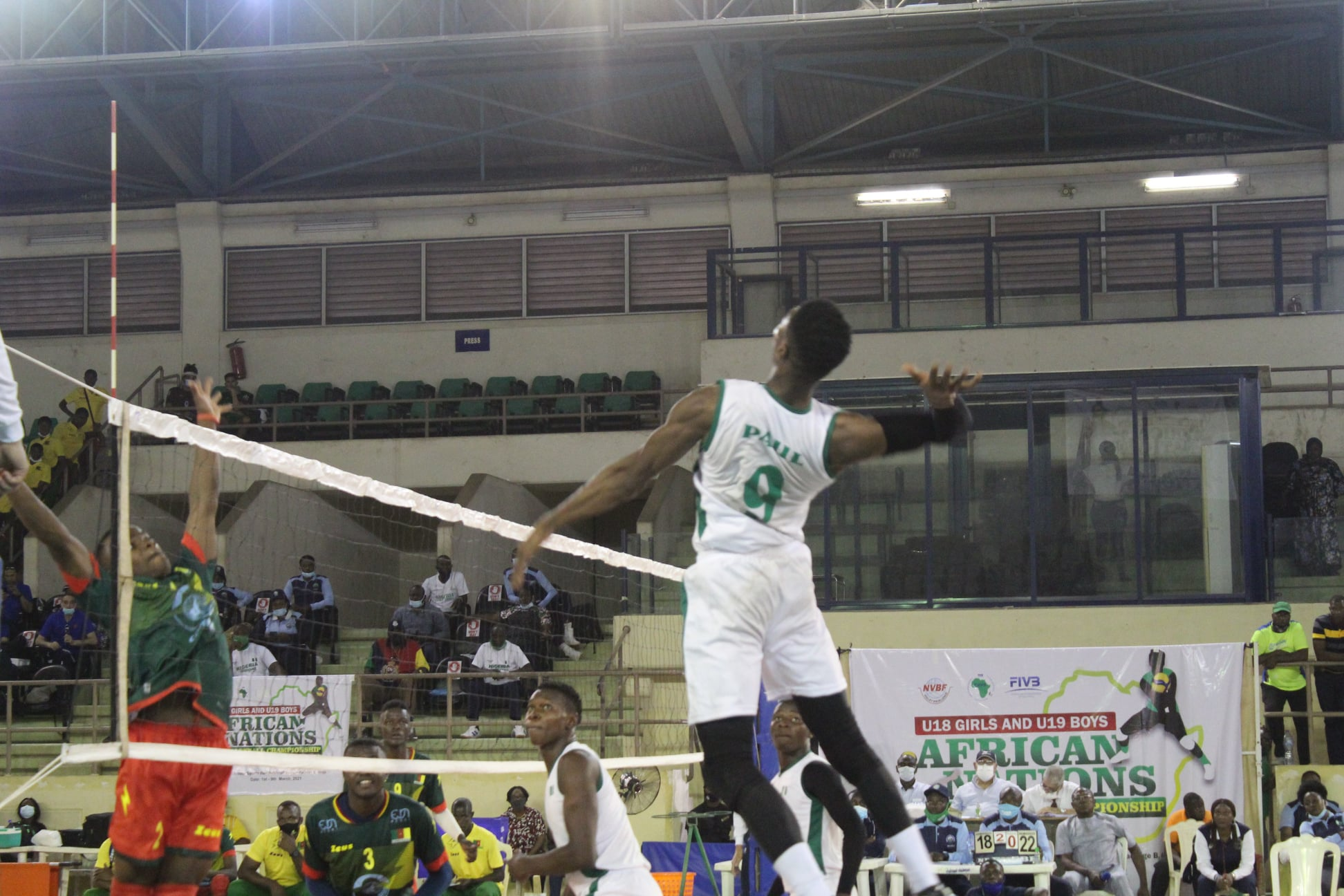 Resolute Nigeria sets tone with win against Cameroon