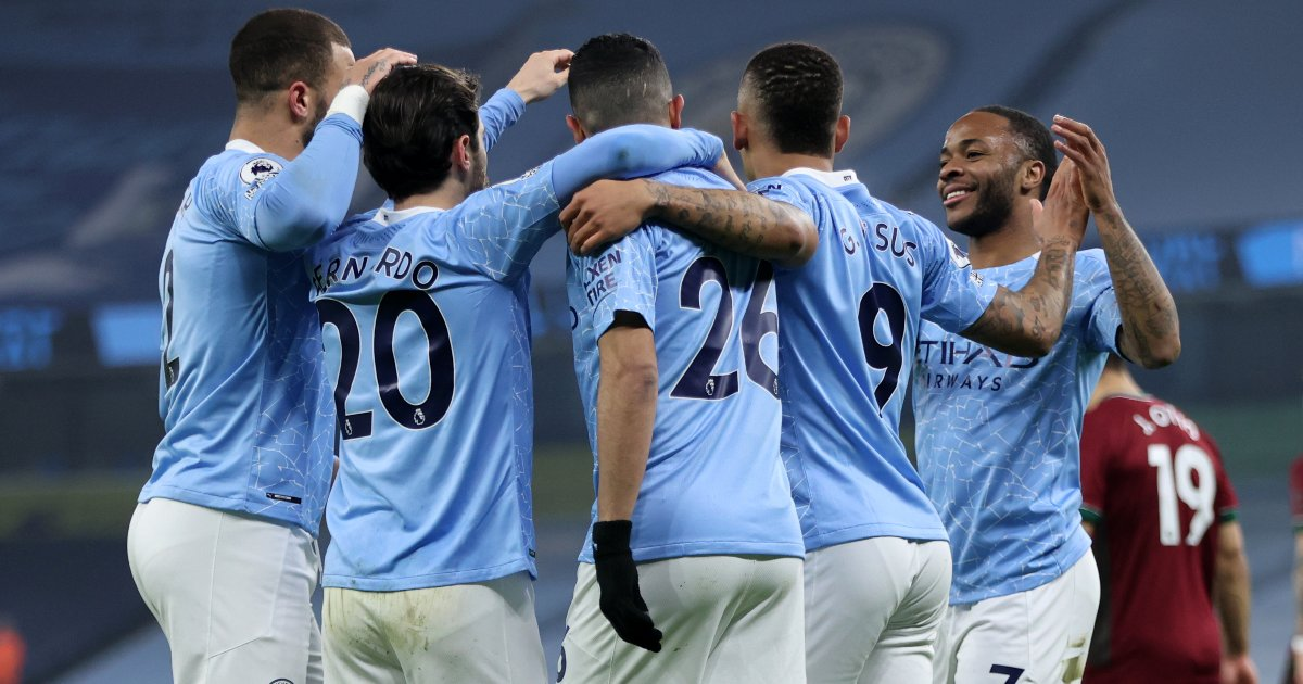 Manchester City close to title as Aguero strikes away to Crystal Palace