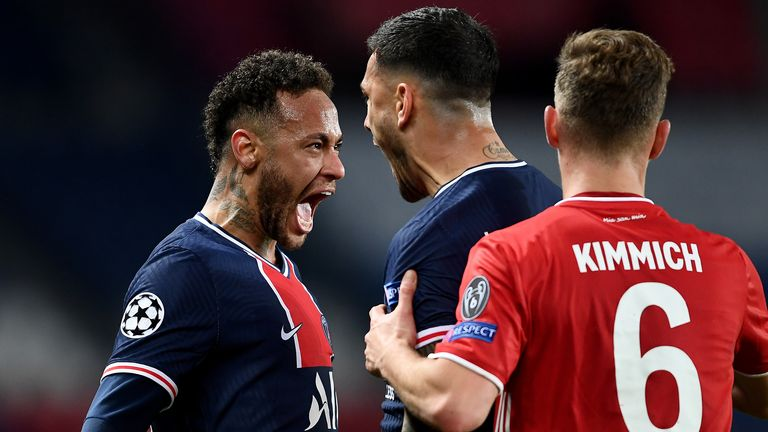 PSG avenges on Bayern to reach Champions League semis