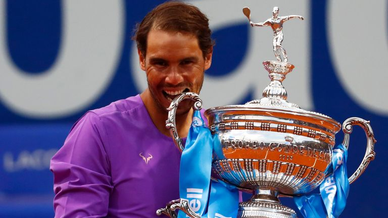 Nadal wins Barcelona Open for 12th time