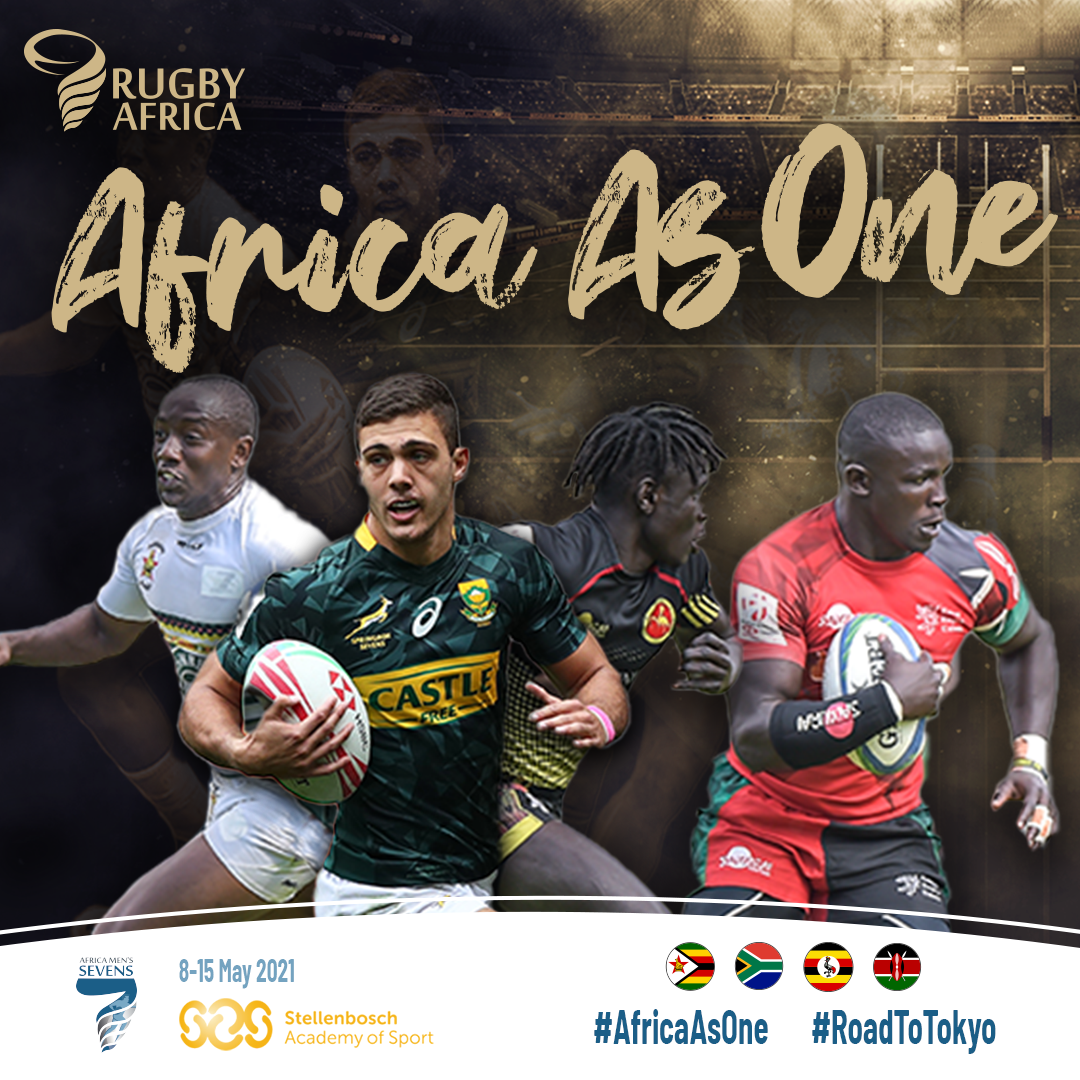 Rugby Africa launch #AfricaAsOne campaign with men's sevens Solidarity Camp
