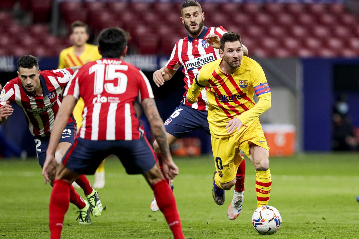 Barca-Atletico key game for title race in Spain
