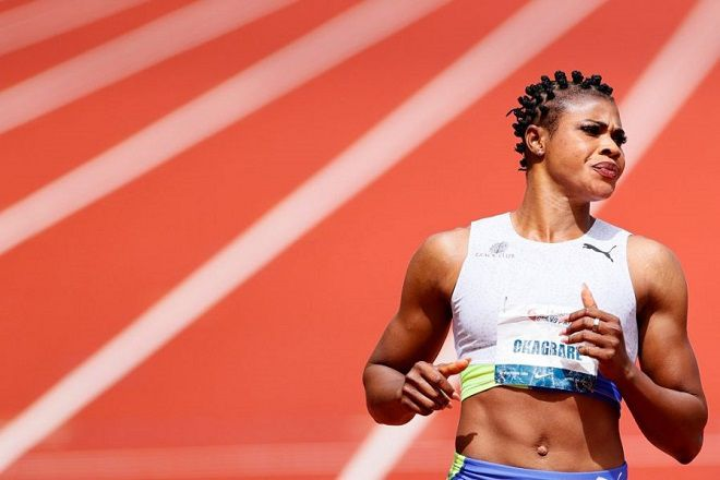 Nigerian sprinter Okagbare suspended for doping before Tokyo 2020 race