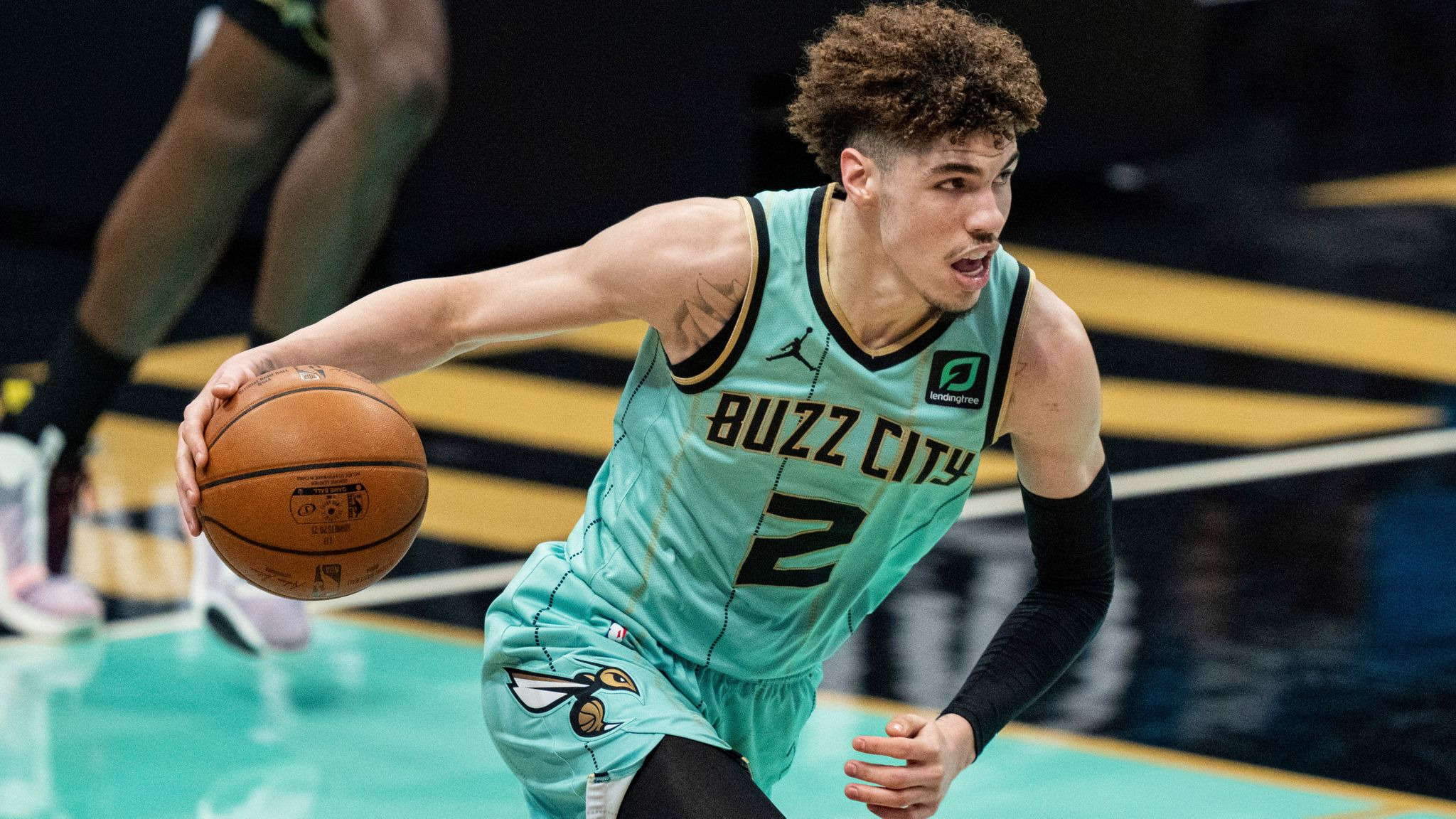 Charlotte's Lamelo Ball wins 2020-21 NBA Rookie of the Year award