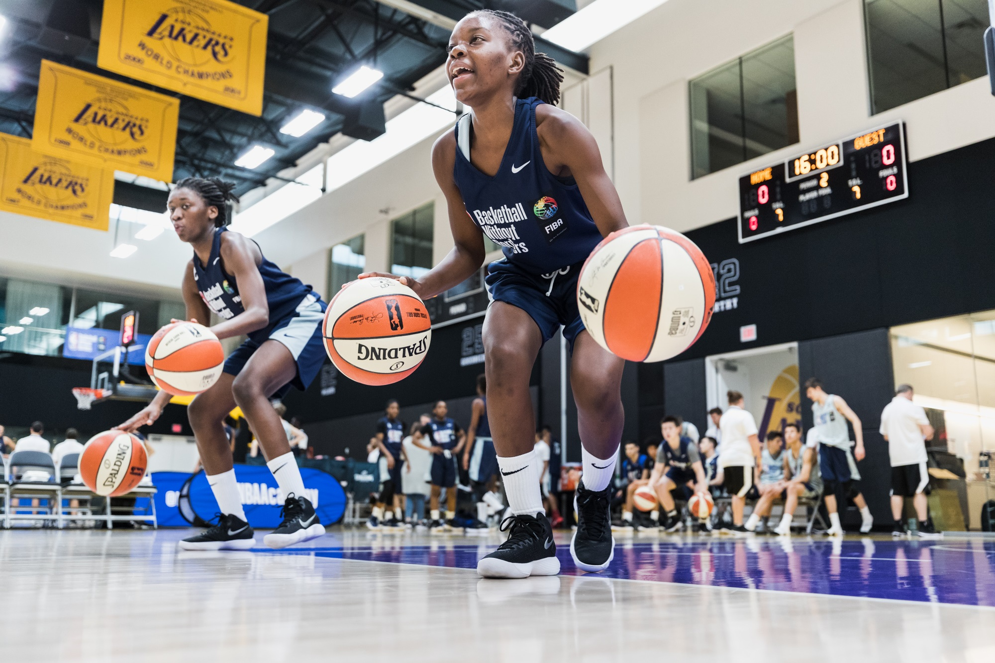 NBA Academy launches programme for top female prospects outside the US