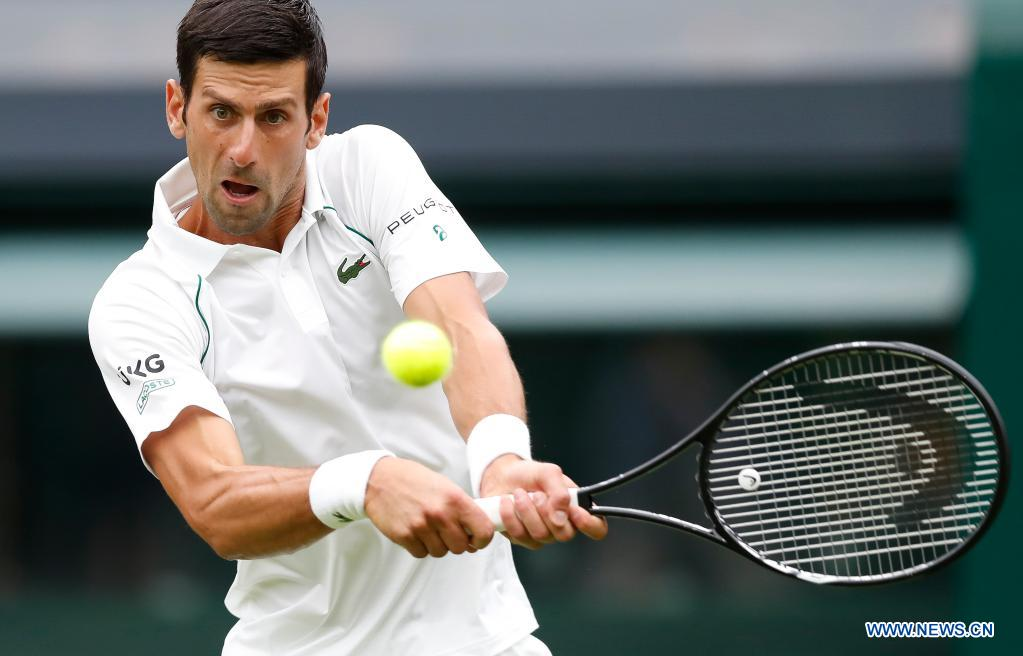 Djokovic comes from behind to win opening match at Wimbledon