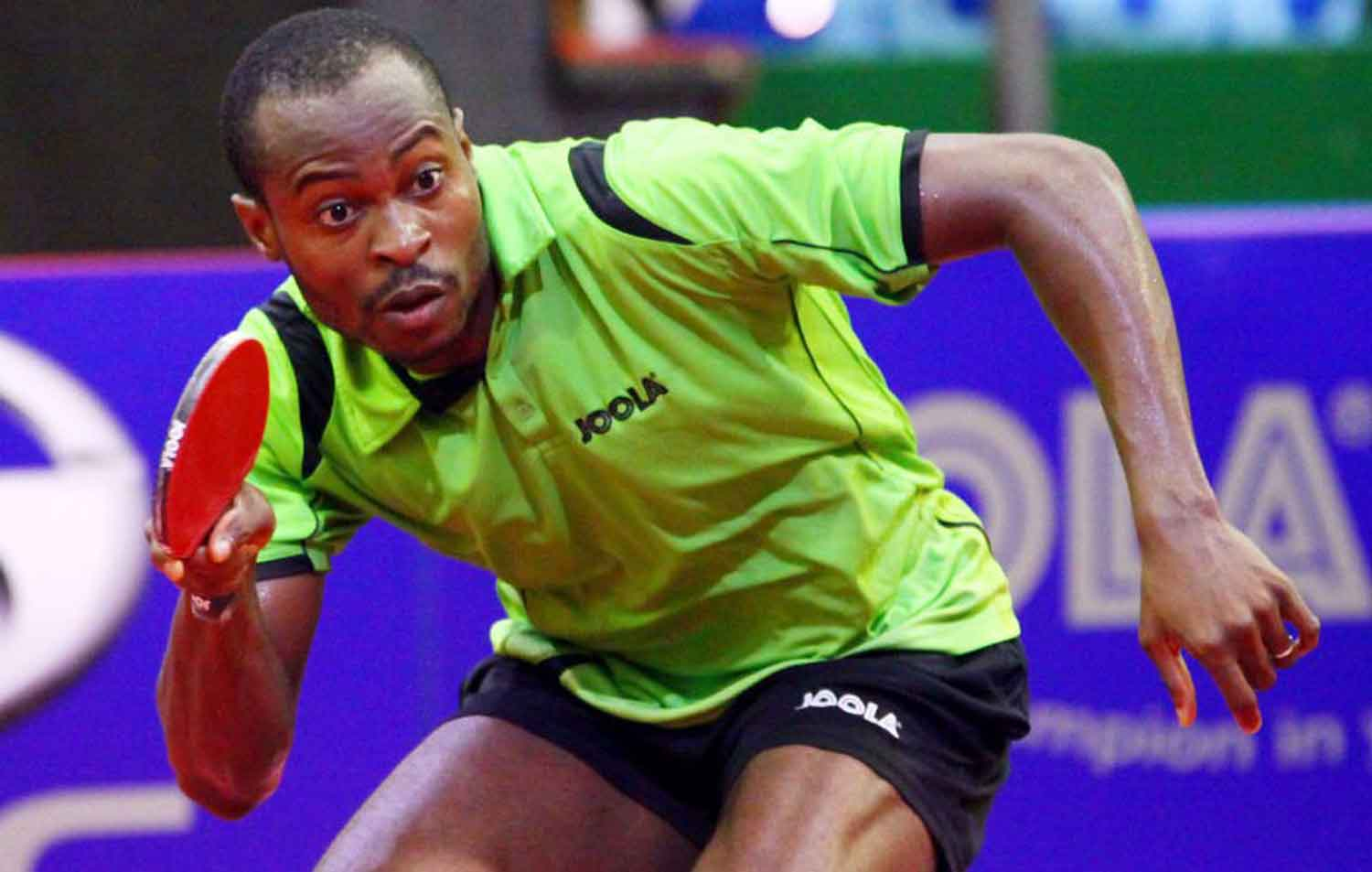 Nigeria's table tennis star qualifies for Tokyo Olympics