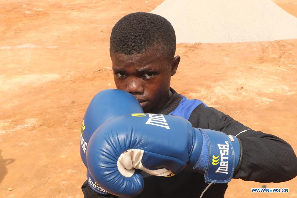 Nigerian boxing prodigy aspires to fight his way up in life