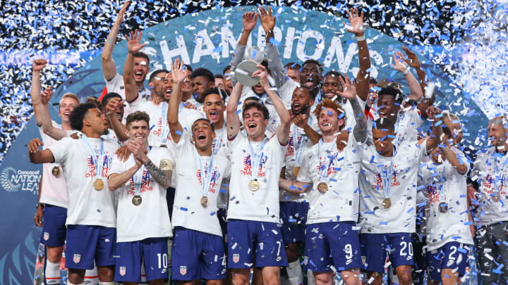 Late Pulisic penalty fires United States to first CONCACAF title
