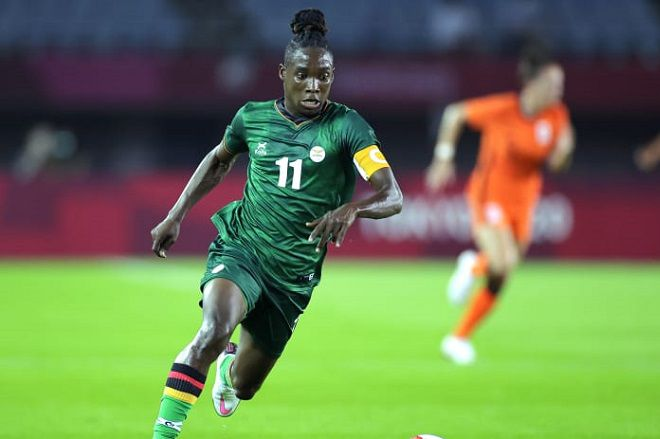 Barbra Banda shines in Tokyo despite Zambia Copper Queens bowing out early