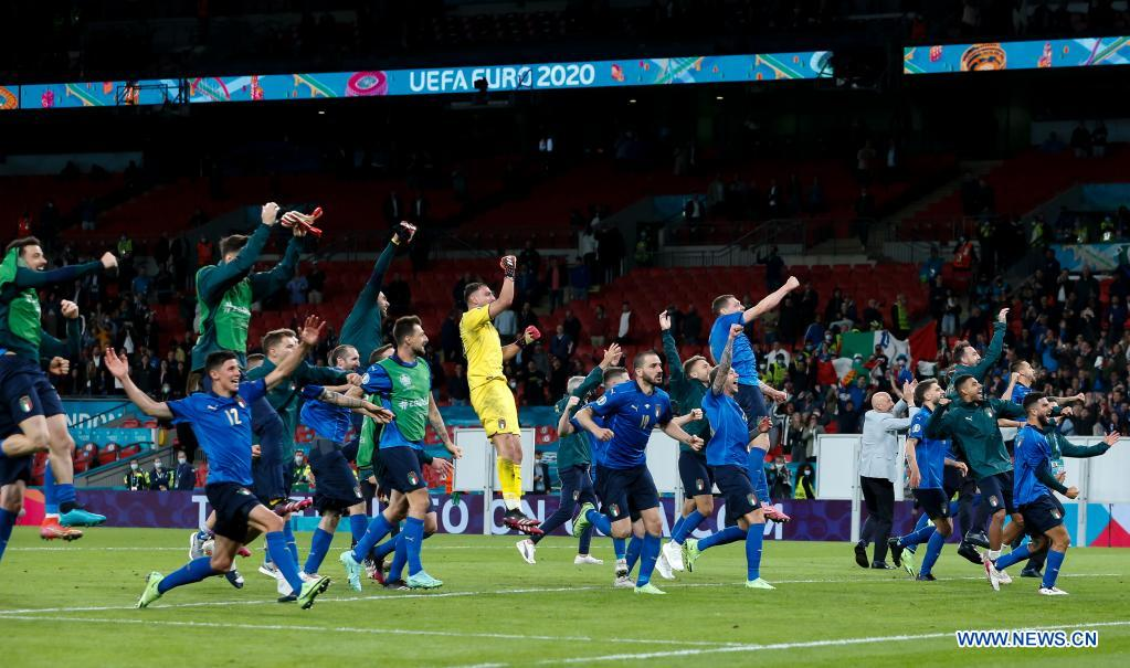 Italy reach final of Euros after penalty shoot out against unlucky Spain
