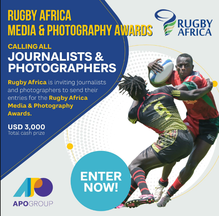 One week left to apply for the Rugby Africa Media & Photography Awards!