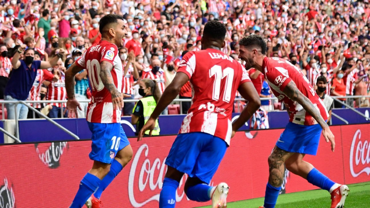 Atletico Madrid look to end drought in midweek LaLiga action