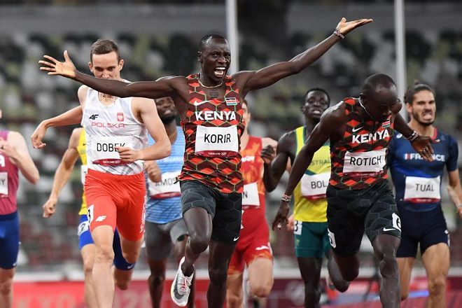 Relief in Kenya as Korir wins the country's first Gold at the Tokyo Olympics