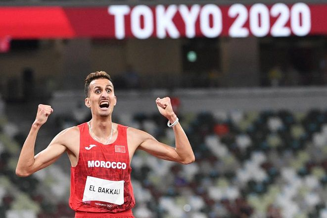 Morocco's El Bakkali wins the 3,000m Steeplechase to end Kenya's four-decade dominance