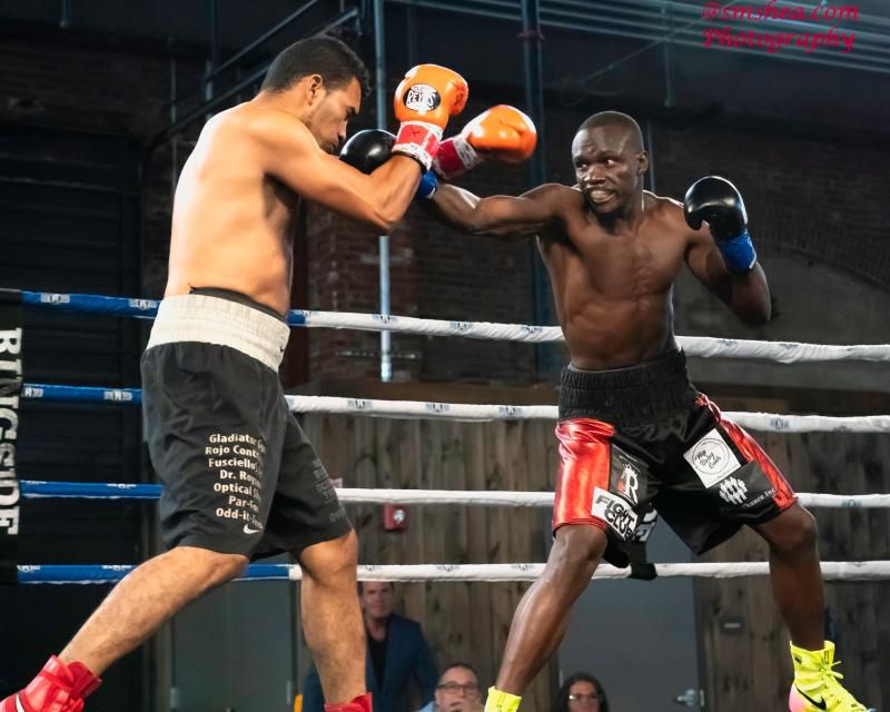 Rayton 'Boom Boom' Okwiri extends his unbeaten run with another knockout