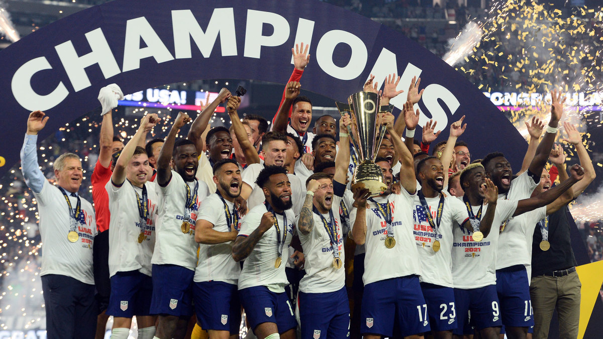 Late Robinson's strike fires US to Concacaf Gold Cup title