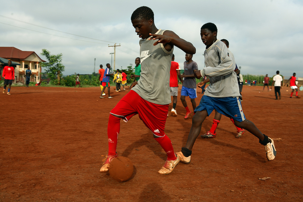 Feature: Holiday football tournament fuels dreams for youngsters as Cameroon gets set for Afcon