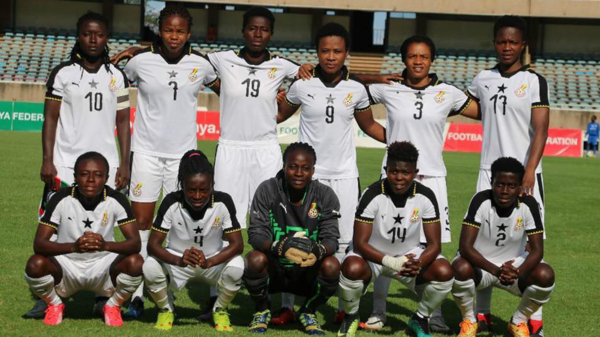Ghana out of African Women Cup of Nations
