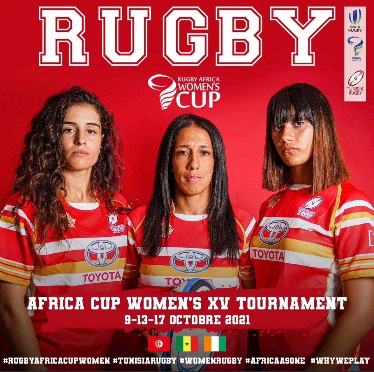 Dates for Rugby Africa Cup Women's 15s tournament announced